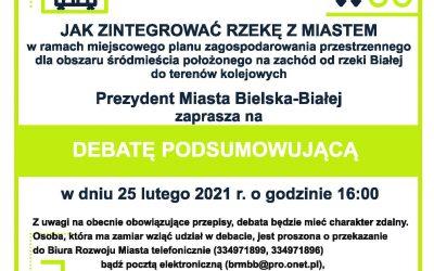 Zaproszenie na debatę podsumowującą